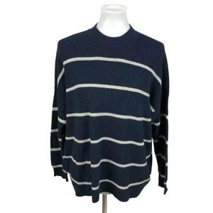 American Eagle Oversized Striped Jegging Sweater